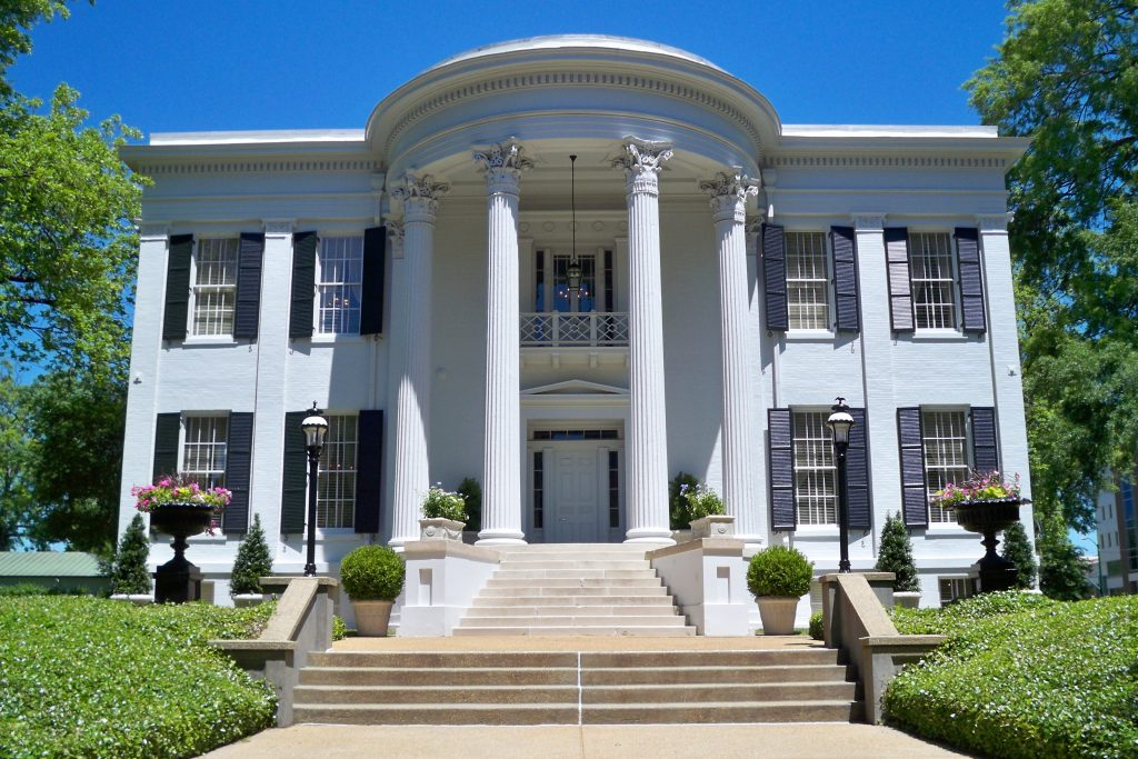 Governor's Mansion, Jackson (Photo by Mary Lohrenz)