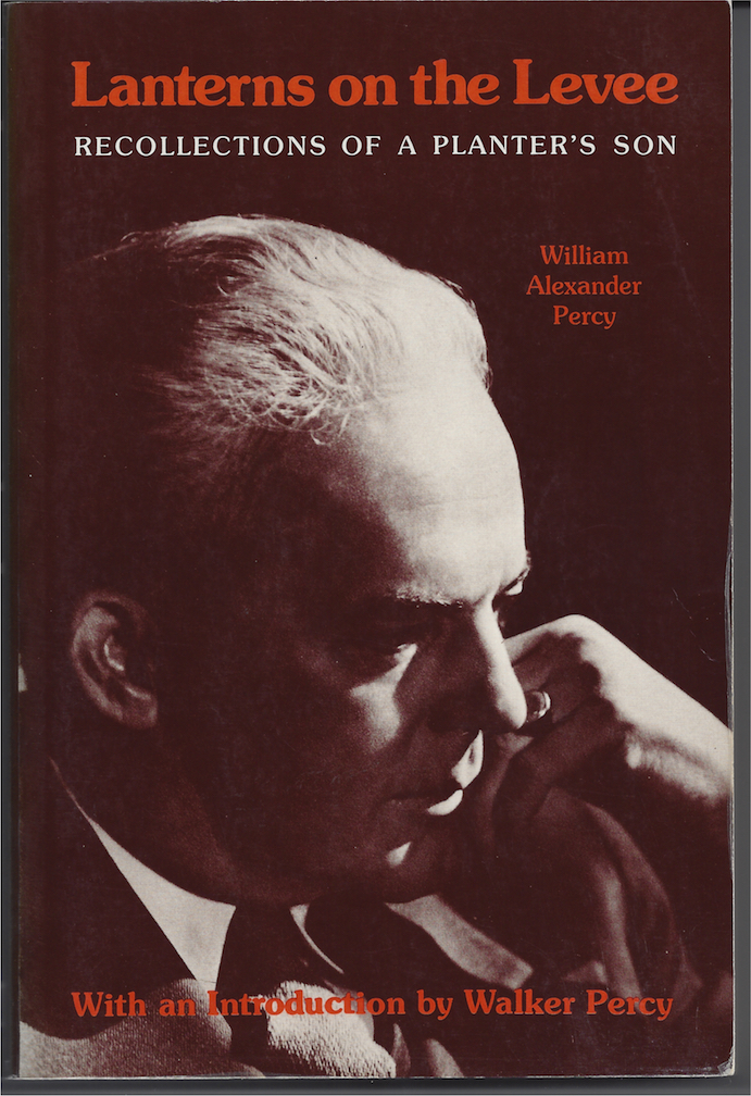 Cover of Lanterns on the Levee by William Alexander Percy.