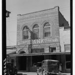 Black and white photo of Merchants and Planters Bank in Tchula, Mississippi, November 1939.