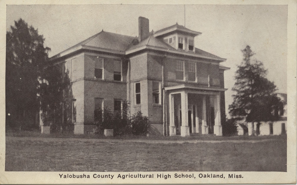 Yalobusha County Agricultural High School in Oakland, ca. 1906