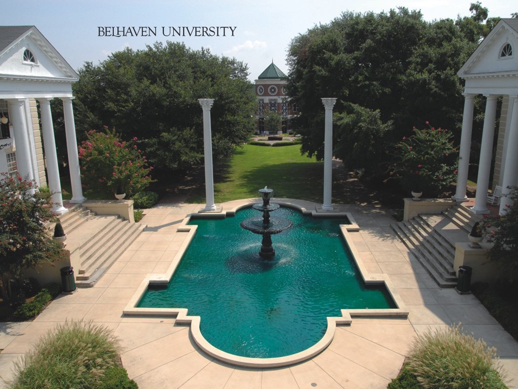 Color photograph of Bellhaven University.