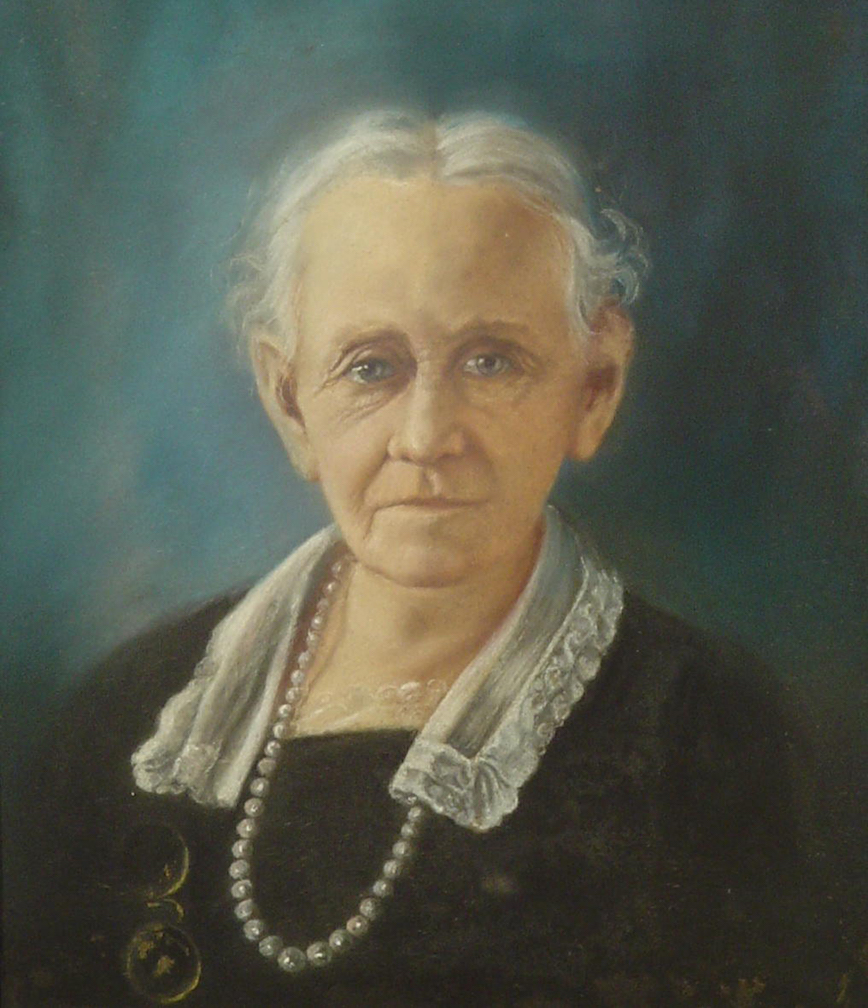 Painting of Modena Lowery Berry.