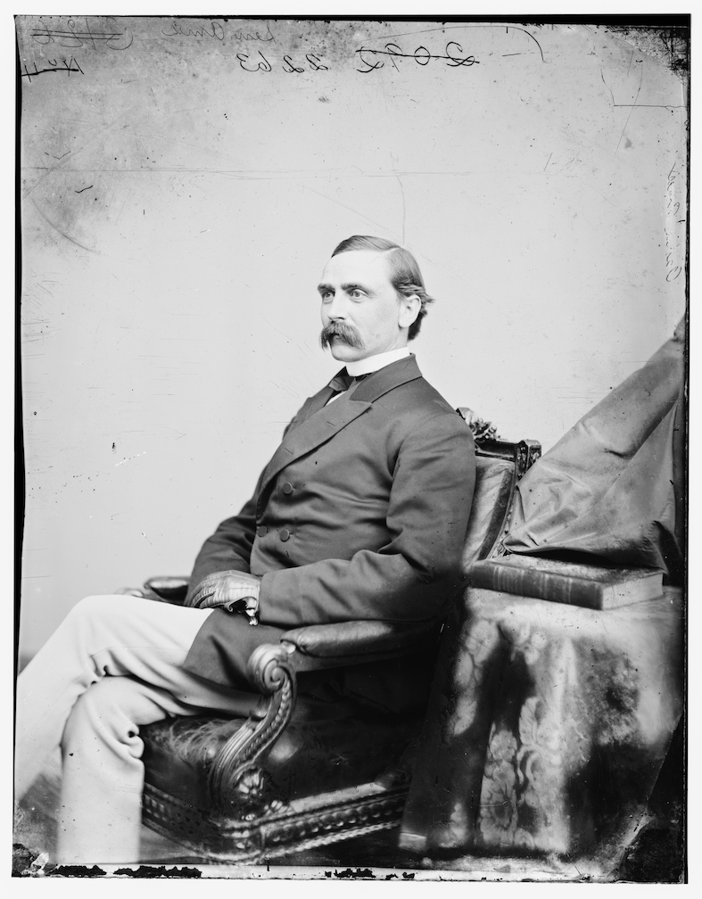 Black and white photograph of Adelbert Ames.