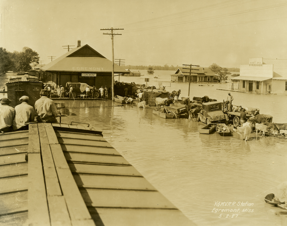 Flood, 1927 Mississippi River