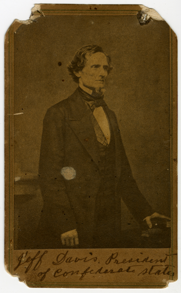 Jefferson Davis portrait.