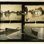 1927 Mississippi River Flood, Elizabeth, MS.