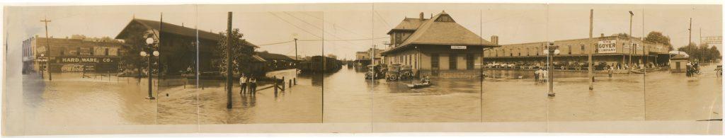 1927 Mississippi River Flood, Greenville