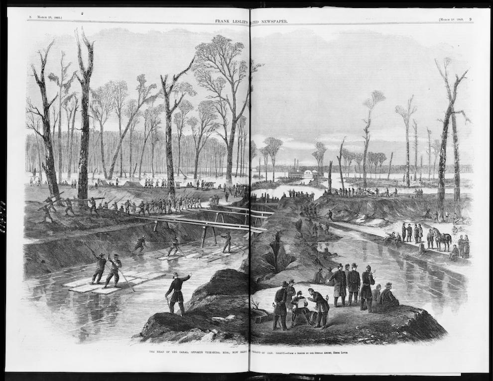 Vicksburg, Winter, 1862–63
